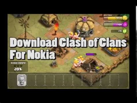 clash of clans on nokia nokia x and lumia