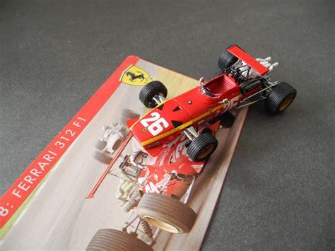 211 resultaten voor ferrari f1 1968. 1968 Ferrari 312 F1 winner French GP Rouen