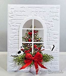 Arched Window and Christmas Tree KittieKraft