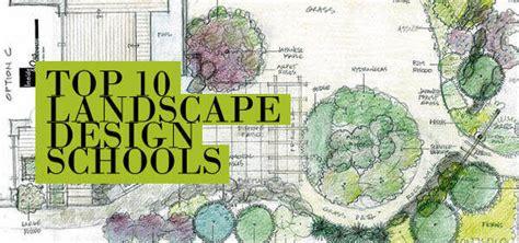 top  landscape design schools  design schools hub