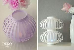 Lampions Selber Basteln : diy laternen lampions aus papier selber machen deko kitchen kids kerze licht laternen ~ Watch28wear.com Haus und Dekorationen