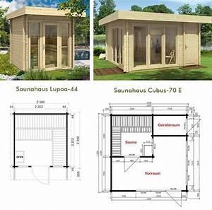 Sauna Selber Bauen : zwei saunah user im grundriss vergleich sauna in 2019 ~ Watch28wear.com Haus und Dekorationen