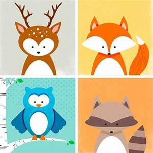 Kids' Room Animal Art Prints