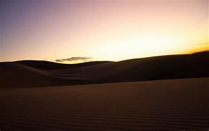 Dunes Sand Horizon San Desert Sunset Sahara