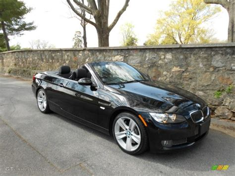 2009 Bmw 335i Convertible by Jet Black 2009 Bmw 3 Series 335i Convertible Exterior