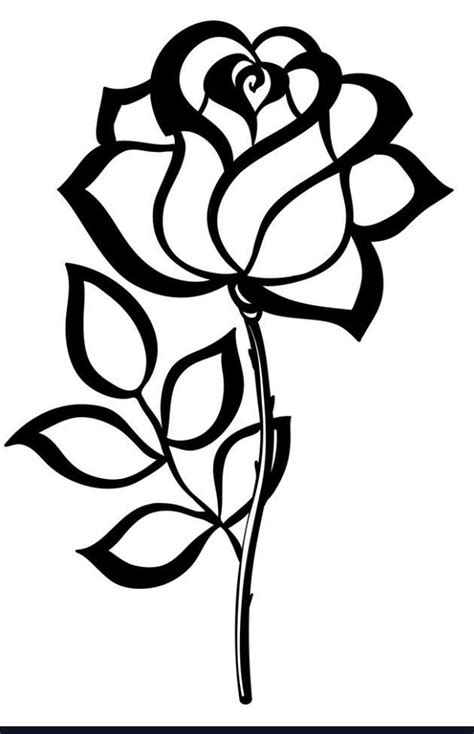 Pin by lynanderics on Special cakes   Rose stencil, Flower