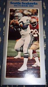 Nfl Seattle Seahawks 1982 Media Guide Illustrated With