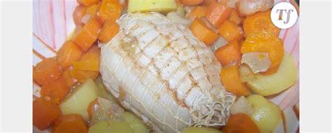cuisine sans graisse rôti de dinde aux carottes sans graisse