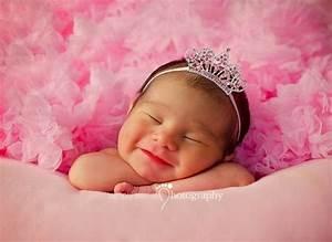 Photo De Bébé Fille : photo b b fille princesse b b et d coration chambre ~ Melissatoandfro.com Idées de Décoration
