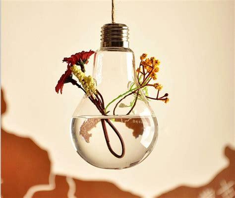 Light Bulb Vase Buy by Buy 10 Pcs Light Bulb Shape Glass Hanging Terrarium Vases