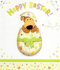 Boofle Cute Happy Easter Greeting Card | Cards | Love Kates