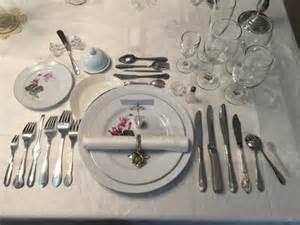 Setting Table Correctly