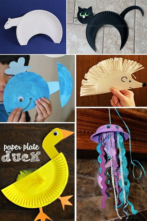 animal paper plate crafts paper plate crafts craft