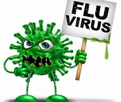 Clipart Flu Germ Stop Spreading Virus Cartoon