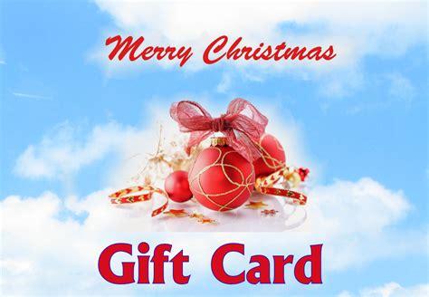 merry christmas digital gift card