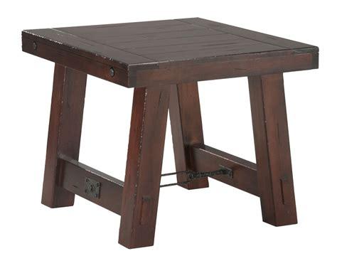 mahogany end table rustic mahogany end table mahogany end table 3955