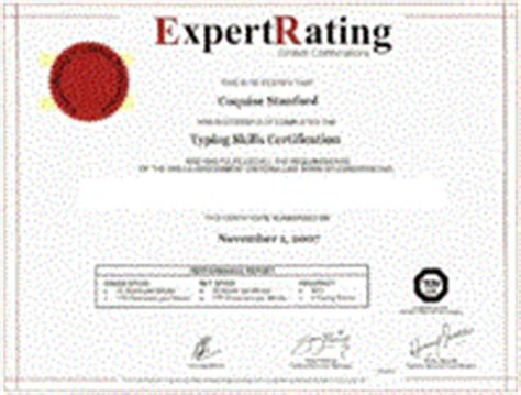 Typing Certificate Template by Typing Certificate Template Quotes