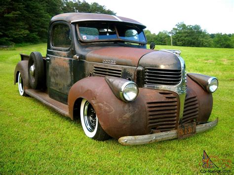 1946 DODGE WD 15 RAT ROD GASSER SHOP TRUCK. PATINA, DRIVE