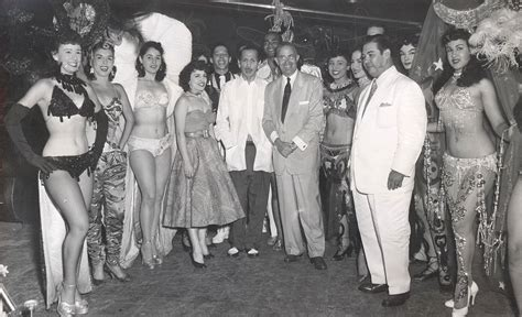 Tropicana Rodney's Girls, Havana, Cuba 1950s