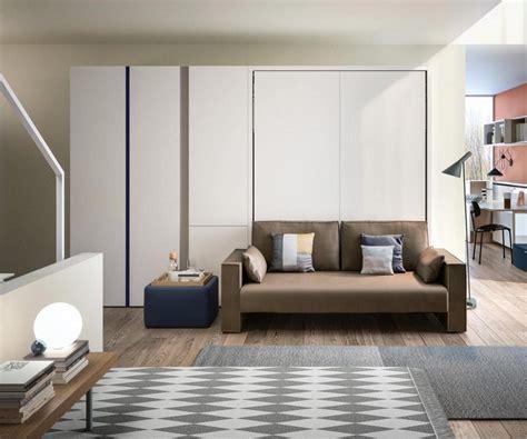 schrankbett mit integriertem sofa schrankbett 160x200 cm clei penelope 2 mit sofa