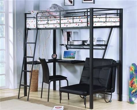 Bunk Bed Settee by Acme Furniture Senon Desk With Folding Bed And Chair