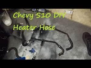 Chevy S10 Diy Heater Hose Repair  Fix The Rice Truck Part