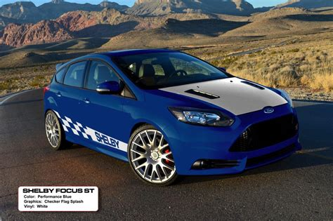 shelby focus st page   mustang source ford