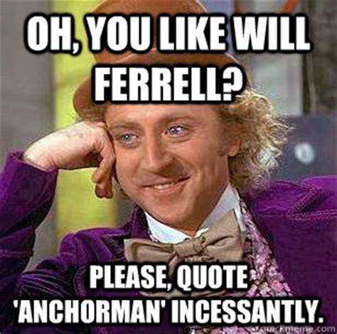Will Farrell Memes - will ferrell anchorman meme