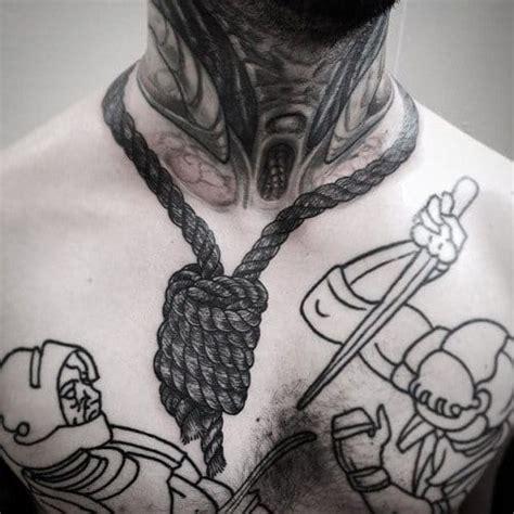 foreboding noose tattoos tattoodo
