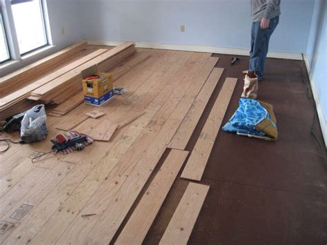 Real Wood Floors For Less Than Half The Cost Of Buying The