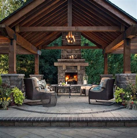 Pictures Of Outdoor Patios by Top 50 Best Backyard Pavilion Ideas Covered Outdoor