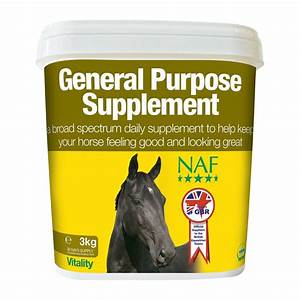 Naf General Purpose Supplement For  Ud83d Udc34 Horses
