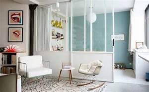 Verriere Interieure Coulissante : une verri re int rieure pour cloisonner l 39 espace avec style ~ Premium-room.com Idées de Décoration