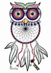 Owl Dreamcatcher Tattoo by natalie-carbis on DeviantArt