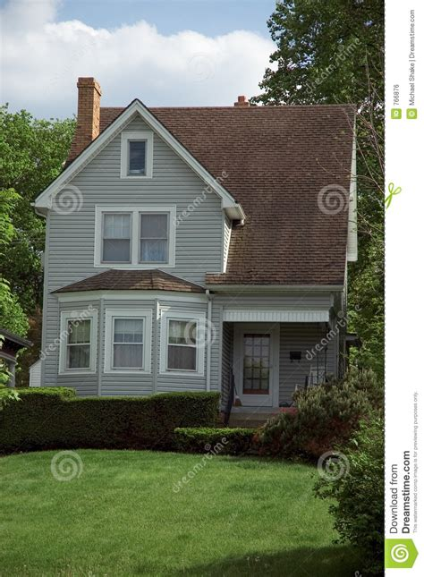 small bungalow house royalty  stock image image