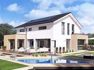 Haus Mit Satteldach : design haus mit satteldach einfamilienhaus concept m 155 bien zenker modernes fertighaus ~ Watch28wear.com Haus und Dekorationen