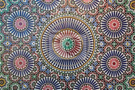 papier peint carrelage marocain geometriques pixers fr