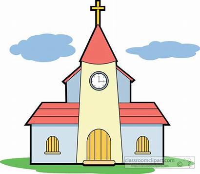 Church Clipart Christian Clip Religion Cliparts Classroom