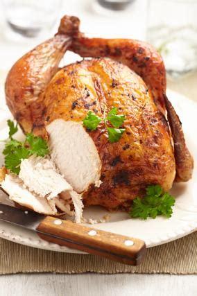 recette poulet fermier roti au