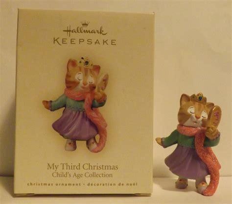 hallmark keepsake ornament my third christmas unknown date