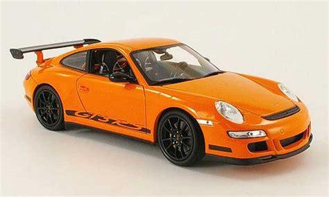 orange porsche 911 gt3 rs porsche 997 gt3 rs miniature orange welly 1 18 voiture