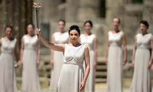 Ancient Greek Olympic Torch