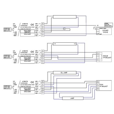 Fluorescent Wiring Diagram by Emergency Fluorescent Light Wiring Diagram Fuse Box And