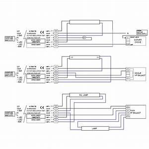 Emergency Fluorescent Light Wiring Diagram