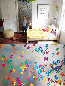 10, Cool, Ideas, To, Use, Magnet, Boards, In, A, Kids, Room