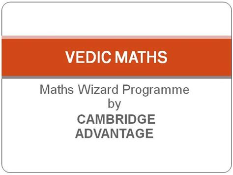 Vedic Mathematics Tips Tricks Part 2 Www Yaroslavgloushakov Com