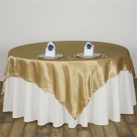 wholesale table linens for weddings 15 pcs 72x72 quot square satin table overlays wedding linens