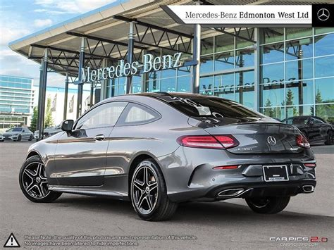 This being a compact coupe, it's really a 2+2 rather than a four seater. New 2019 Mercedes-Benz C300 4MATIC Coupe 2-Door Coupe in Edmonton, Alberta