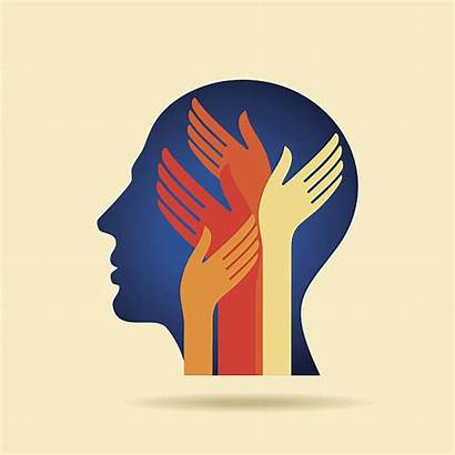 Mental Health Vector Clip Thinking Idea Illustrations