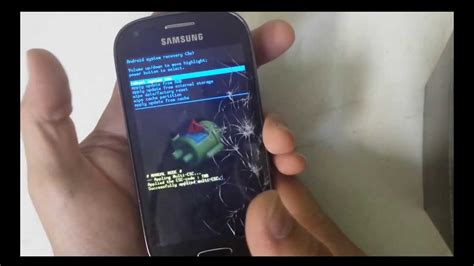 how to reset samsung galaxy light 4g t399 reset and soft reset youtube